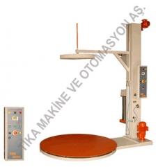Üst Baskılı Palet Streçleme Makinesi